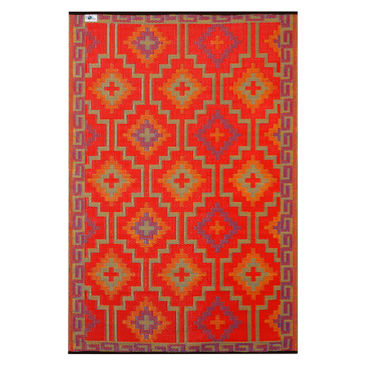 Lhasa Plastic Outdoor Rug By Fab Rugs, Plastic Outdoor Rug